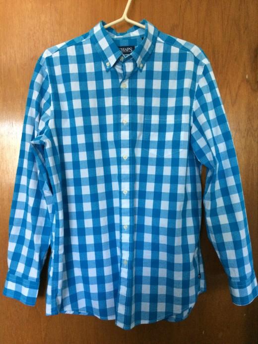 Chaps Stretch Poplin Shirt