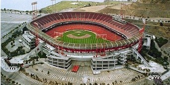 Candlestick Park in San Francisco, California