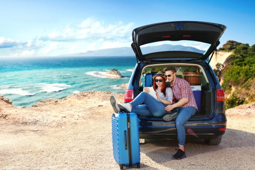 luggage for a trip