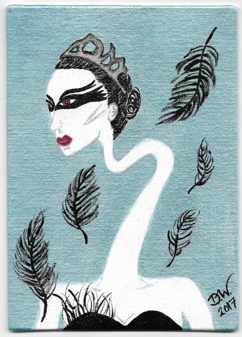 "My eclectic interpretation of ""The Black Swan"""
