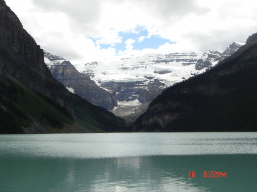 Lake Louise - Banff National Park of Canada  July, 2008