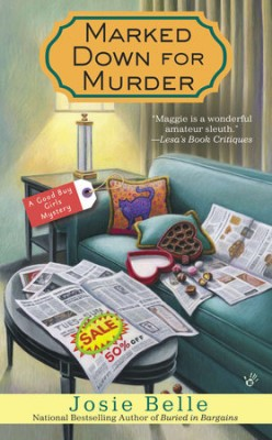 Book Review: Marked Down For Murder by Josie Belle