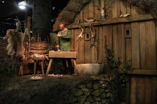 Jorvik Viking Centre 1. The antler craftsman