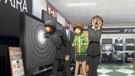 Yu's ability to enter into the TV world is a little too much for Yosuke to handle.