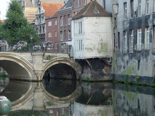 Bridge in Mechelen (Belgium)