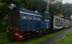 Riding the Toy Train to Darjeeling in the Eastern Himalayas