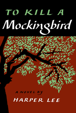 This is the front cover art for the book To Kill a Mockingbird written by Harper Lee. The book cover art copyright is believed to belong to the publisher, J. B. Lippincott & Co., or the cover artist.