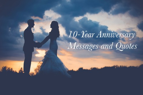 10-Year Wedding Anniversary Messages and Quotes