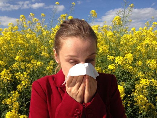 You may need to increase your preventive inhaler when pollen count is high