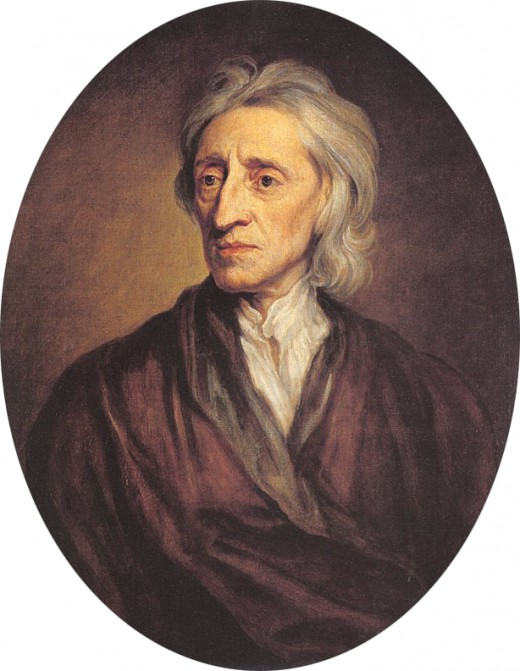 The ideas of Basiat were rooted in the ideas of the English philsopher John Locke (1632-1704). Locke said that men are rational agents, had rights to life, liberty, and property, and the purpose of government was to secure those rights.