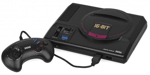The Sega Genesis MegaDrive
