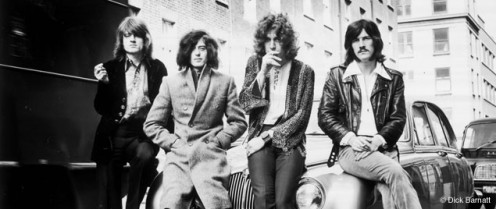 Led Zeppelin Promo Photo © Dick Barnatt