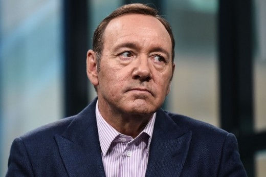 Kevin Spacey, facing allegations of sexual misconduct