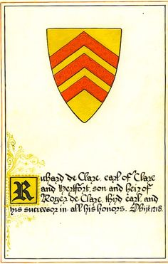 DeClare or DeCleir family crest - the line goes back some way and includes the dukes of Burgundy