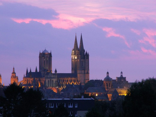 Coutances cathedral, its bishop Geoffroi another staunch ally of William