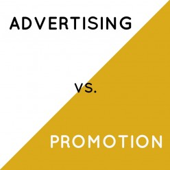Advertising vs. Promotion