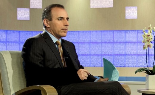 Matt Lauer, in 2009
