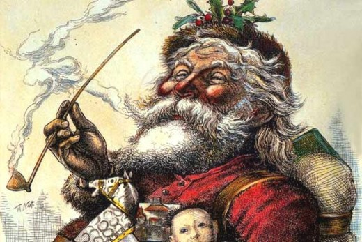 This 1881 Thomas Nast illustration help defined our modern definition of Santa Claus