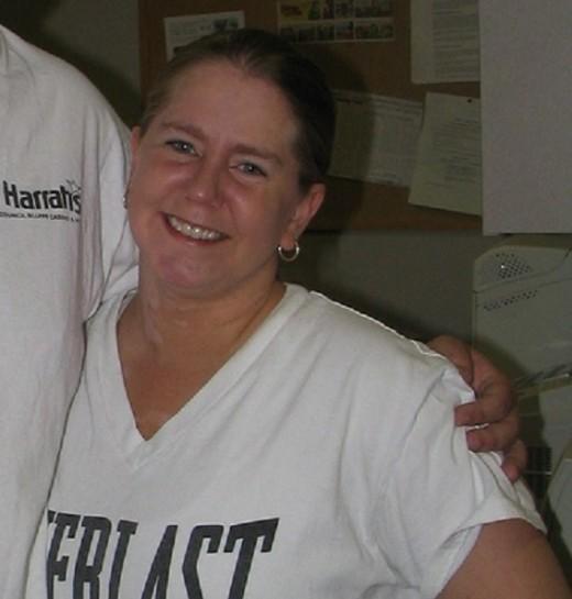 Tonya Harding in Lincoln, Nebraska, in 2006