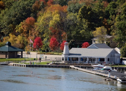 The Fox River at Appleton