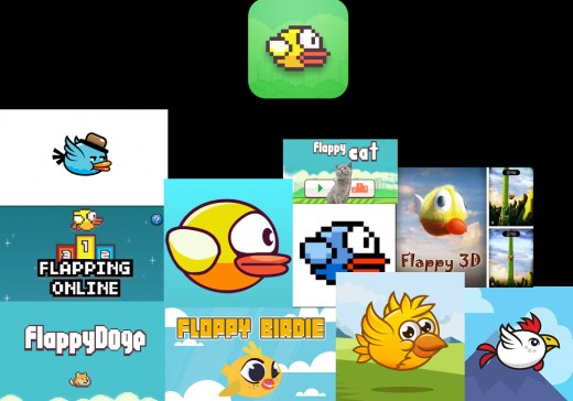 Flappy Bird and some of clones.