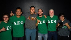 Joining a College Fraternity:  Alpha Chi Sigma Initiation