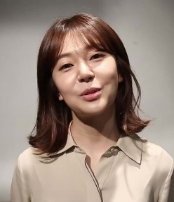 Korean Actress and Fashion Model Baek Jin Hee