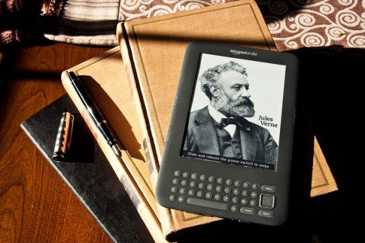 (cc image) Amazon, the Online Superstore, Selling All Goods, A-Z, and Amazon's Very Own Kindle Digital Reading Device is a Top Selling Product, Each and Every Year