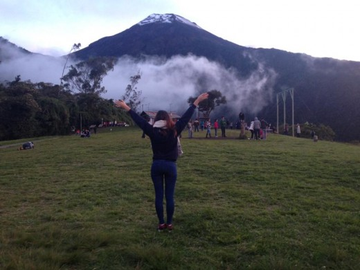 Volcano Tungurahua in Baños
