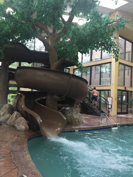 Indoor pool at the Park Vista