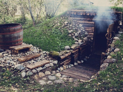 finno-baltic ground sauna