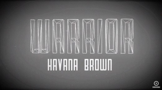Another song by Havana Brown. It will make you feel like a workout warrior!
