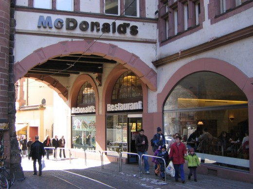 McDonald's in Freiburg