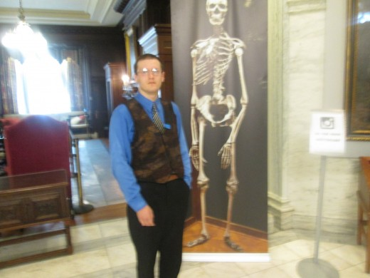 Me inside of the Mütter Museum