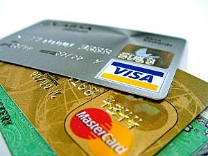 Prepaid credit cards available from Visa, Maestro and MasterCard