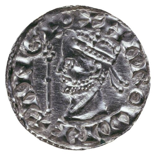 Silver penny minted for King Harold II (Godwinson) after an original by Theodoric - William would not have wanted these around during his reign
