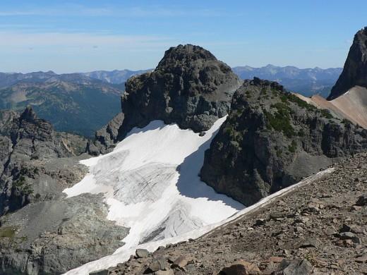 Sarvent Glacier in Mount Rainier National Park