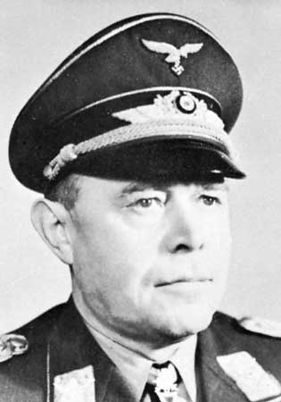 Field Marshal Albert Kesselring was given command of German forces on the Italian front. 'The soft under-belly' wasn't that soft.  Torrential winter rains, a narrow coastal strip on either side and well-prepared German positions made life hard