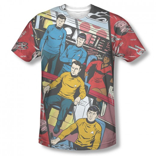 Choose from hundreds of Star Trek themed t-shirts to find that perfect gift for the Trekkie on your list