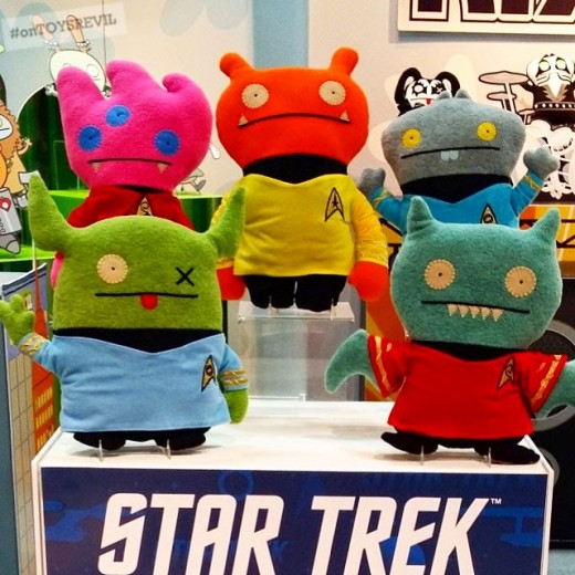 Star Trek themed uglydoll gifts for the Trekkie in  your life
