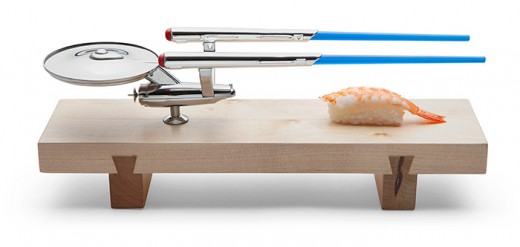 Does someone on your gift list love sushi and Star Trek?  Here's the perfect gift idea for them!