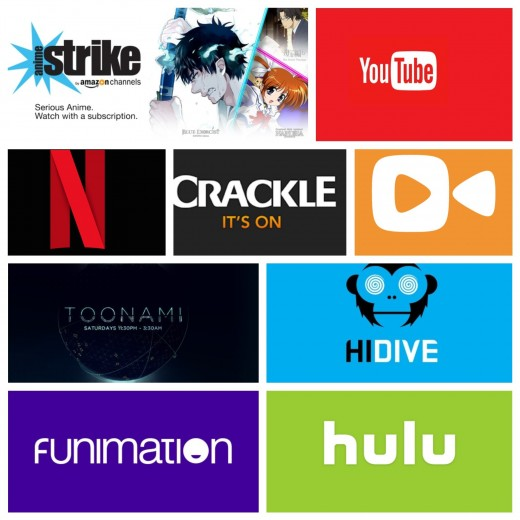 The current platforms, paid and free, where you can legally stream your favorite anime titles.