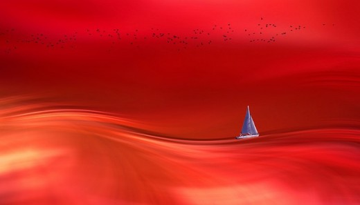You are the only one you have. Just like that yacht out in the middle of an unknown ocean. You and the elements.