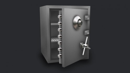 Make sure that the place you store your passwords is as safe as, well, a safe!