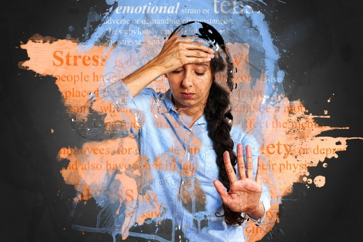 Directly or indirectly stress may affect your health