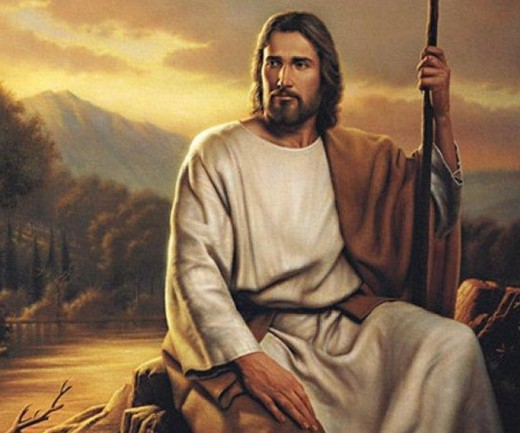Jesus Christ the great teacher. The one who brought salvation to man. He taught us the right way to live as Christians.
