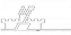 Castles in ASCII Text Art