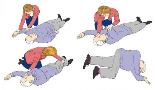 Figure 5. Recovery position.