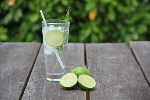 Gin and tonic has its roots in tropical British colonies, where gin was used to dull the bitter flavor of quinine, which was taken to protect against malaria. Quinine is still an ingredient of modern day tonic water.