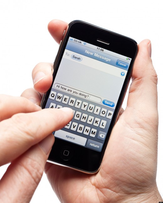 Has texting become the norm? As to the way people communicate in today's world.
